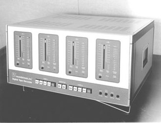 Soundstream - Promotional / publicity photo of the Soundstream Digital Tape Recorder.