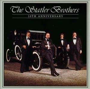 10th Anniversary (The Statler Brothers album) - Image: Statlers 10th Anniversary