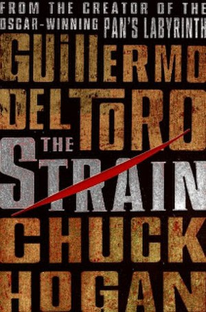 The Strain - 2009 first edition hardback cover