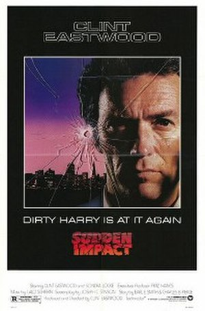 Sudden Impact - Theatrical poster by Bill Gold