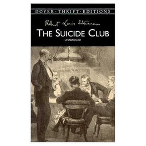 The Suicide Club (short story collection) - Cover of the 2000 Dover Thrift Edition
