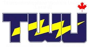 Telecommunications Workers Union - Image: TWU logo