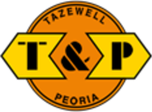 Tazewell and Peoria Railroad - Image: Tazewell and Peoria Railroad logo