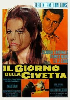 <i>The Day of the Owl</i> (film) 1968 film by Damiano Damiani