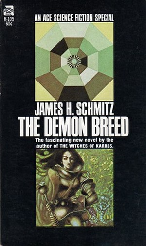 The Demon Breed - Cover of first edition (Ace Special)