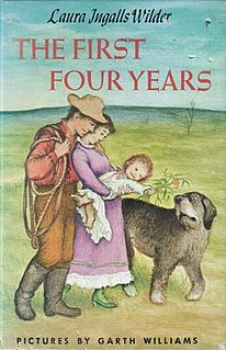 <i>The First Four Years</i> (novel) American childrens novel, 1971, ninth in the Little House series, unfinished