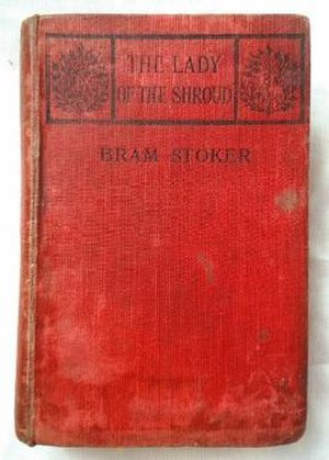 The Lady of the Shroud - Front cover of a first edition