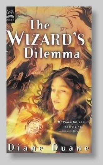 The Wizard's Dilemma - Cover art for The Wizard's Dilemma