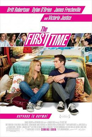 The First Time (2012 film) - Theatrical release poster