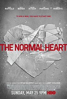 <i>The Normal Heart</i> (film) 2014 film directed by Ryan Murphy