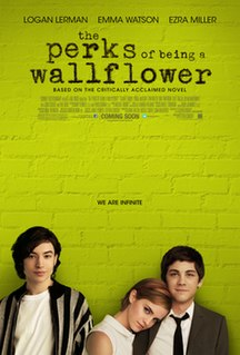 <i>The Perks of Being a Wallflower</i> (film) 2012 American coming-of-age drama film directed by Stephen Chbosky