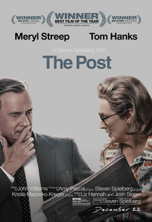<i>The Post</i> (film) 2017 film by Steven Spielberg
