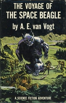 The Voyage of the Space Beagle (book) front cover