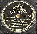 This Love of Mine Sinatra Dorsey Victor 78 1941.jpg