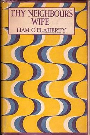 Thy Neighbour's Wife - First edition (publ. Jonathan Cape)
