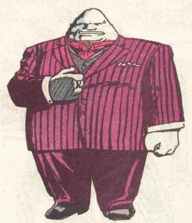 Tobias Whale villain in DC Comics