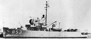 BRP Datu Marikudo (PS-23) - as USS PCER-853