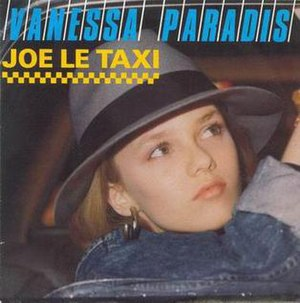 Joe le taxi - Image: Vanessa Paradis Joe Le Taxi single cover