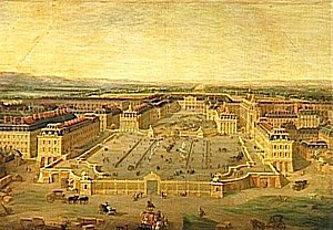 Henri Desmarets - The Palace of Versailles, where Desmarets' opera Endymion was first performed in 1686