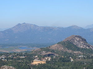 Edakkal Caves - Image: View from the Edakkal caves