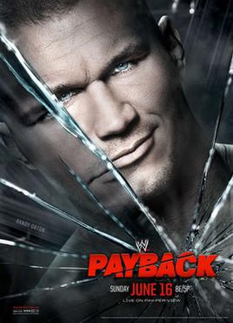 Payback (2013) - Promotional poster featuring Randy Orton
