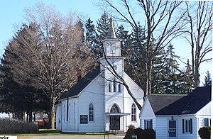 Walsh, Ontario - Image: Walsh Baptist Church
