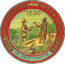Official seal of Watertown, Massachusetts