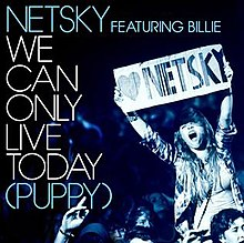 Netsky featuring Billie — We Can Only Live Today (Puppy) (studio acapella)