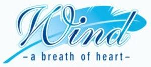 Wind: A Breath of Heart - Image: Wind breath of heart logo