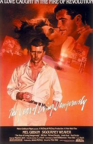 The Year of Living Dangerously (film) - Theatrical release poster
