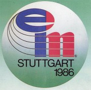 1986 European Athletics Championships - Image: 1986stuttgart