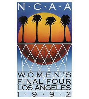 1992 NCAA Division I Women's Basketball Tournament - Image: 1992Womens Final Four Logo