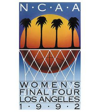 1992 NCAA Division I Women's Basketball Tournament - Image: 1992Womens Final Four Logo