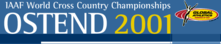 2001 IAAF World Cross Country Championships Logo.png