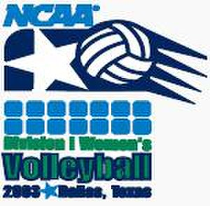 2003 NCAA Division I Women's Volleyball Tournament - 2003 NCAA Final Four logo