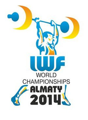 2014 World Weightlifting Championships - Image: 2014 World Weightlifting Championships logo