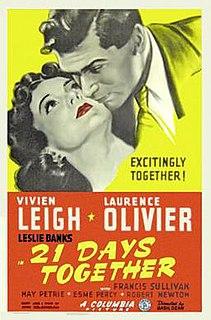 <i>21 Days</i> 1940 British drama film directed by Basil Dean