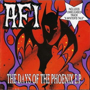 The Days of the Phoenix - Image: AFI The Days of the Phoenix cover