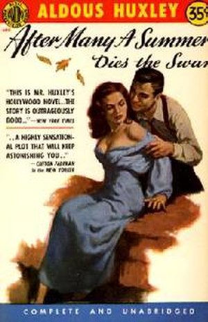After Many a Summer - Cover of the US mass-market paperback