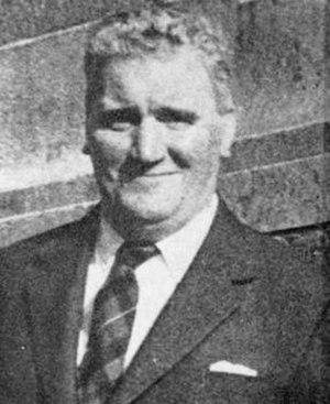 Alan Dent - Alan Dent wearing a tartan tie.