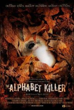 The Alphabet Killer - Theatrical release poster