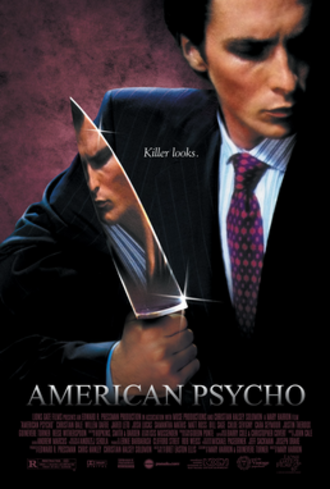 American Psycho (film) - Theatrical release poster