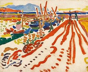 André Derain - André Derain, 1906, La jetée à L'Estaque, oil on canvas, 38 x 46 cm