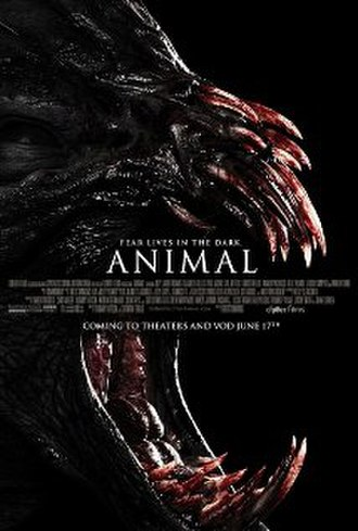 Animal (2014 film) - Theatrical poster