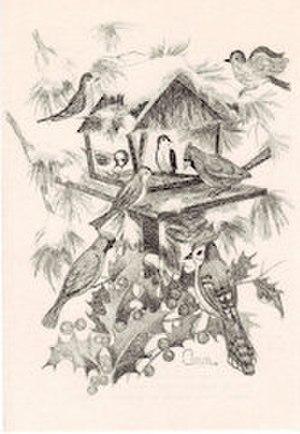 Ann Adams - Ann Adams, Winter Birds, made between 1958 and 1992