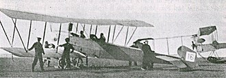 Avro 501 - Avro 501 No. 16, converted to landplane and delivered to the Royal Naval Air Service in January 1913. Used for training at Royal Naval Air Station Eastchurch.