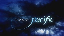 South Pacific title card