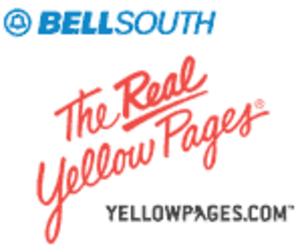 BellSouth Advertising & Publishing - BellSouth Real Yellow Pages logo, 1984-2006
