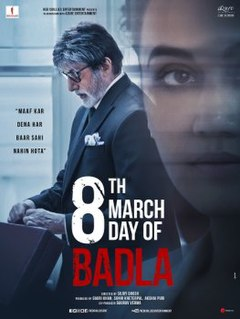 <i>Badla</i> (2019 film) 2019 Indian Hindi language film by Sujoy Ghosh
