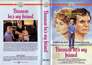 Because He's My Friend - VHS case